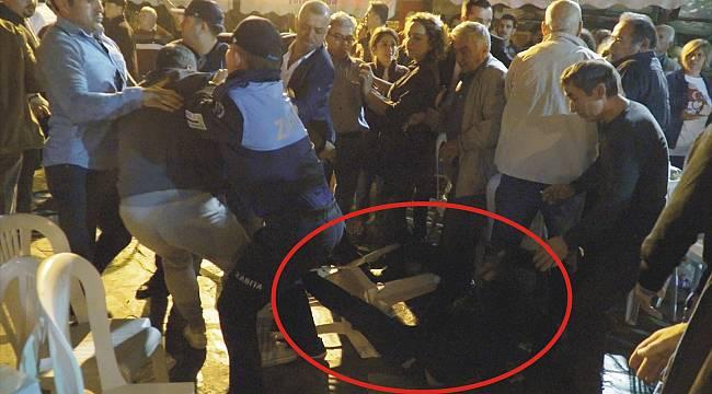 Başkan Sengel'e Çirkin Saldırı