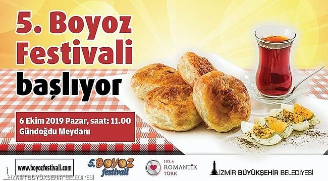 İzmir boyoza doyacak