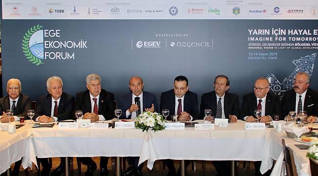 3. Ege Ekonomik Forum Başlıyor…