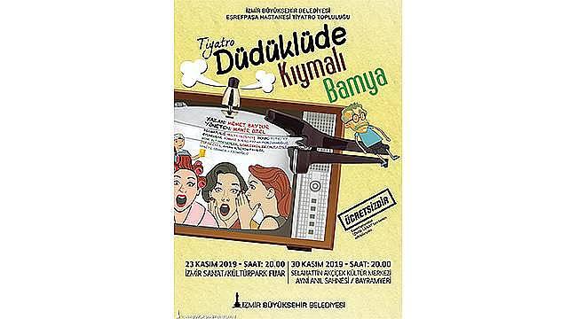 Eşrefpaşa Hastanesi Tiyatro Topluluğu'ndan yeni oyun