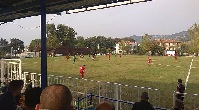 Foça Belediyespor - Bornova Belediyespor 0 - 1