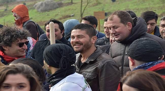 Başkan Gürbüz, 'Orman İzmir' Fidan Dikim Şenliğine Katıldı