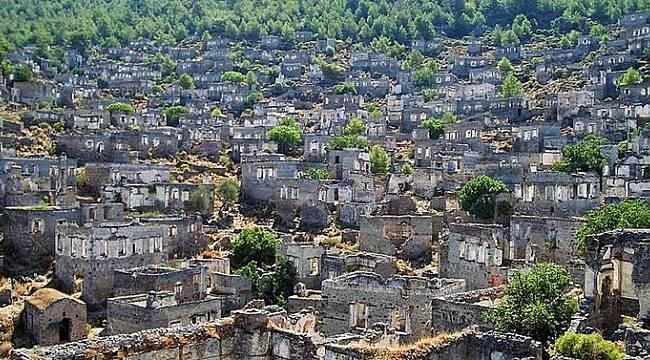 Eski Rum Köyü Sazak, İzmir'in Kayaköy'ü olacak