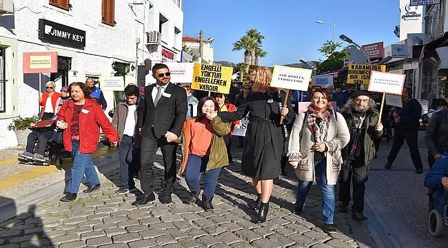 Foça'da ''Engelliler Günü'' Etkinliği