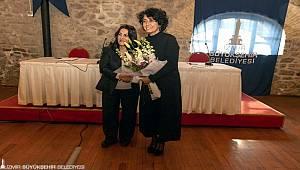İzmir'in kadın muhtarları İzmir Büyükşehir Belediyesi ev sahipliğinde bir araya geldi