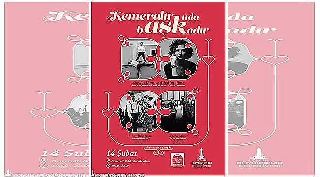 İzmir Büyükşehir'in 14 Şubat etkinlikleri gün boyu sürecek
