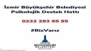 İzmir'de psikolojik destek hattı devrede