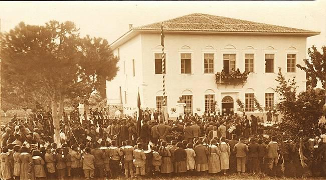13 Eylül 1922 Türk Ordusu Aliağa'dan Geçti