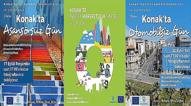Konak'ta Avrupa Hareketlilik Haftası fotoğraf yarışması