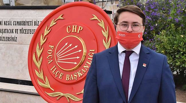 Foça CHP Gençlik Kolları'ndan 'Cumhuriyet Bayramı' Mesajı