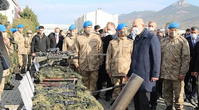 Bakan Soylu Jandarma Uzman Erbaşların Mezuniyet Törenine Katıldı