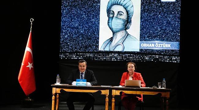 Eflatun Nuri Karikatür Yarışması'na çevrimiçi ödül töreni
