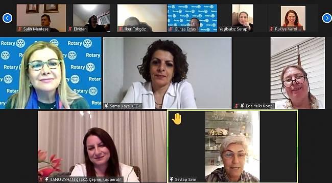 Dokuz Eylül Rotary 'Olmazları Olduran Kadınları' ağırladı