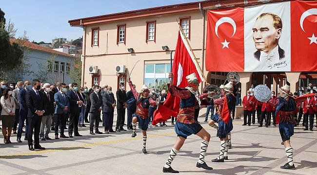 Atatürk'ün Bergama'ya gelişinin 87.'nci yıl dönümü kutlandı