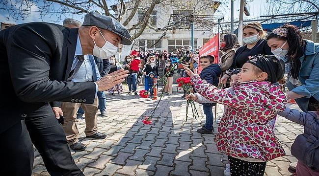 """Başkan Soyer'den 23 Nisan mesajı: """"Sağlıklı günlerde yeniden coşkuyla kutlayacağız"""""""
