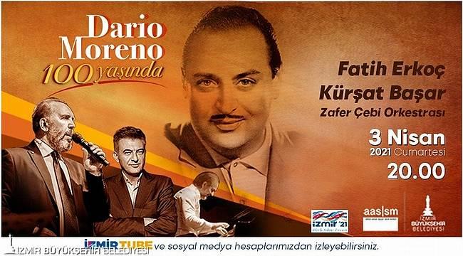 Büyükşehir'den Dario Moreno'nun 100 yaşı anısına konser