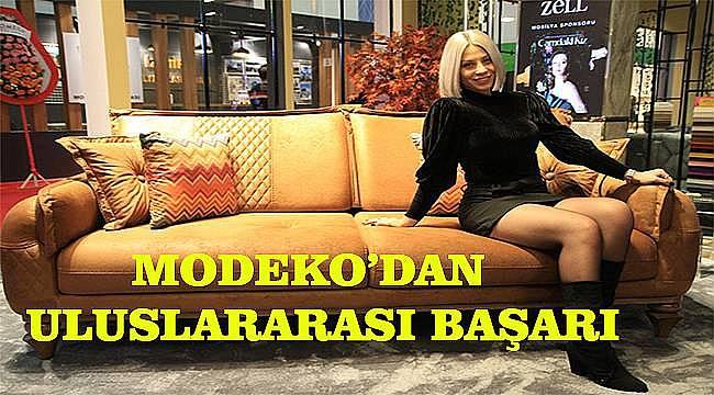 Modeko'dan uluslararası başarı!