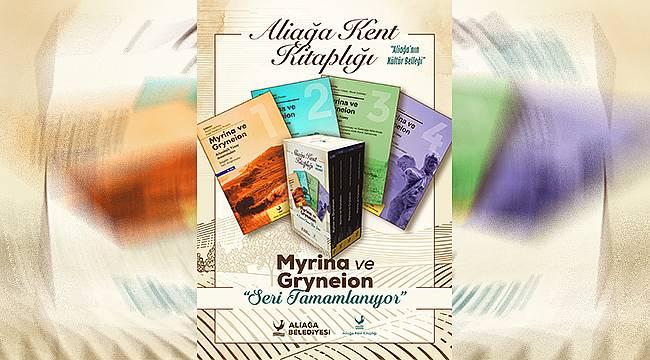 Myrina ve Gryneion Serisinin 3. ve 4. Ciltleri Hazırlanıyor