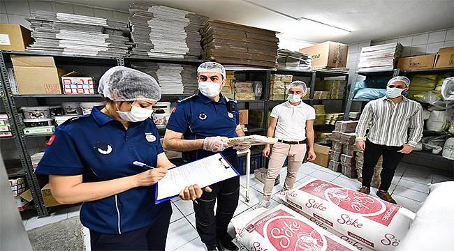 Zabıta ekipleri gıda üretim ve satış yerlerini denetledi