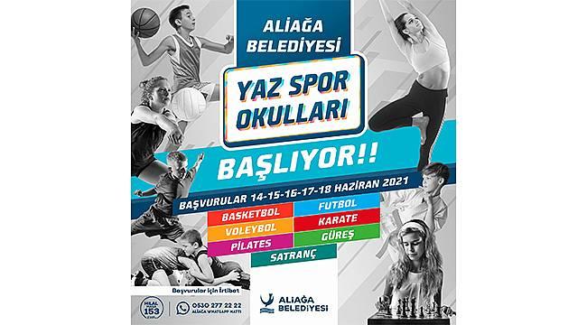 Aliağalı Gençler Tatilin Keyfini Spor Yaparak Yaşayacak