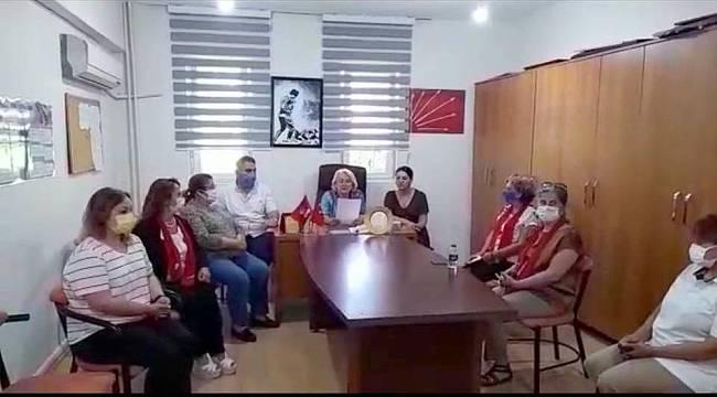 CHP Foça Kadın Kollarından İstanbul Sözleşmesi açıklaması