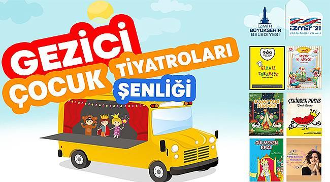 Gezici Çocuk Tiyatroları Şenliği başlıyor! 25 Haziran'da Foça'da...