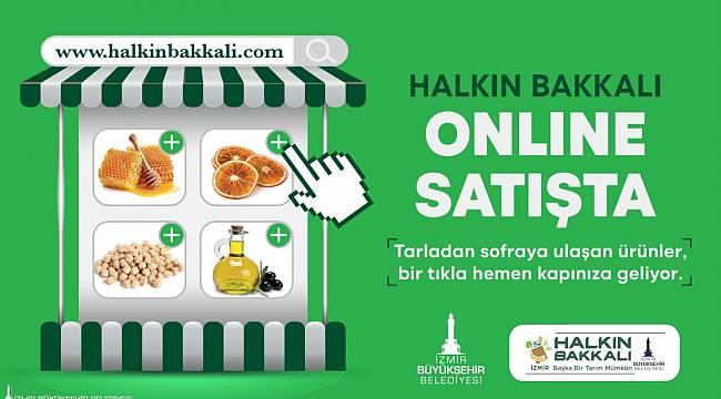 Halkın Bakkalı'nda online satış başladı