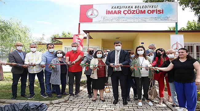 Karşıyaka Belediyesinden bir açılış daha: 'İmar Çözüm Ofisi' hizmete sunuldu
