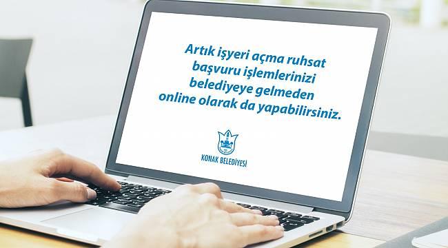 Konak'ta online ruhsat dönemi