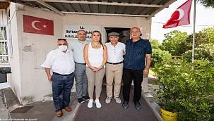 Başkan Soyer Bayraklı'da deprem sonrası süreçle ilgili bilgi aldı