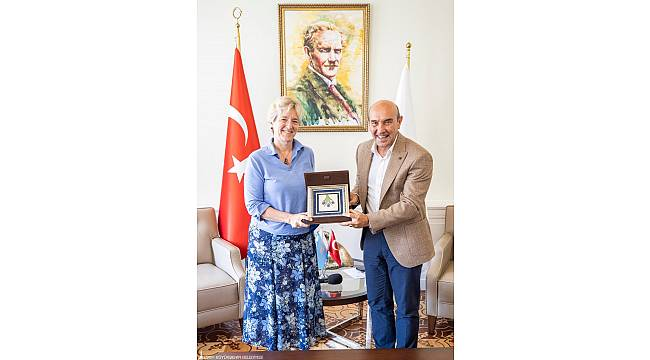 Başkan Soyer'den Kültür Zirvesi için diplomasi trafiği