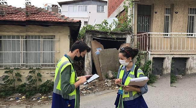 Büyükşehir, Bayraklı'nın yapı stoku envanteri için sahada: Çalışmaların yüzde 86'sı tamamlandı