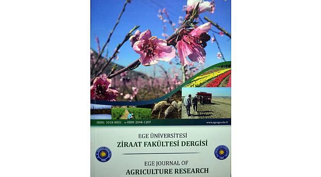 EÜ Ziraat Fakültesi Dergisi 57 yıldır tarıma yön veriyor