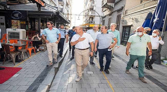 Başkan Soyer: Kıbrıs Şehitleri Caddesi şehrin vitrini olacak
