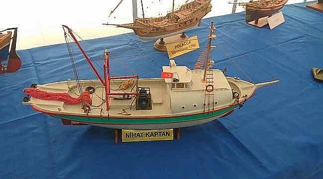 Maket Tekne Sergisi Foça'da açıldı