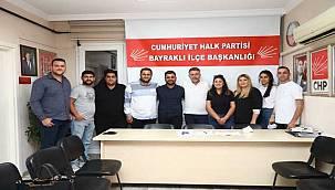 Serdar Sandal CHP Bayraklı Gençlik Kolları'yla buluştu