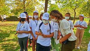 """Ege Üniversitesinden """"Doğa Öğretir Ben Tasarlarım"""" projesine destek"""
