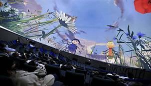 Karşıyaka'nın Planetaryumunda film gösterimleri başladı
